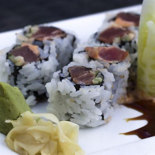 美食精选寿司高清微信图片