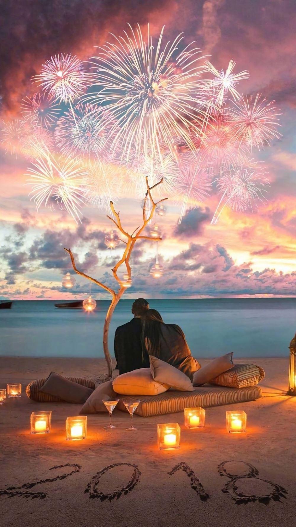 浪漫梦幻的各地风景-情侣唯美有意境图片