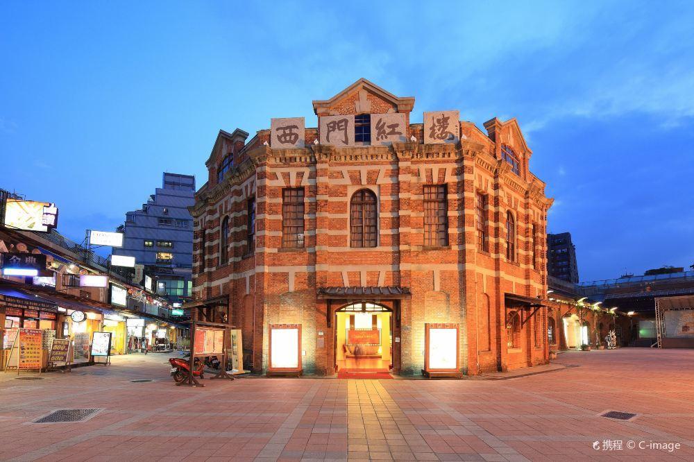 台北西门红楼复古建筑壁纸图片