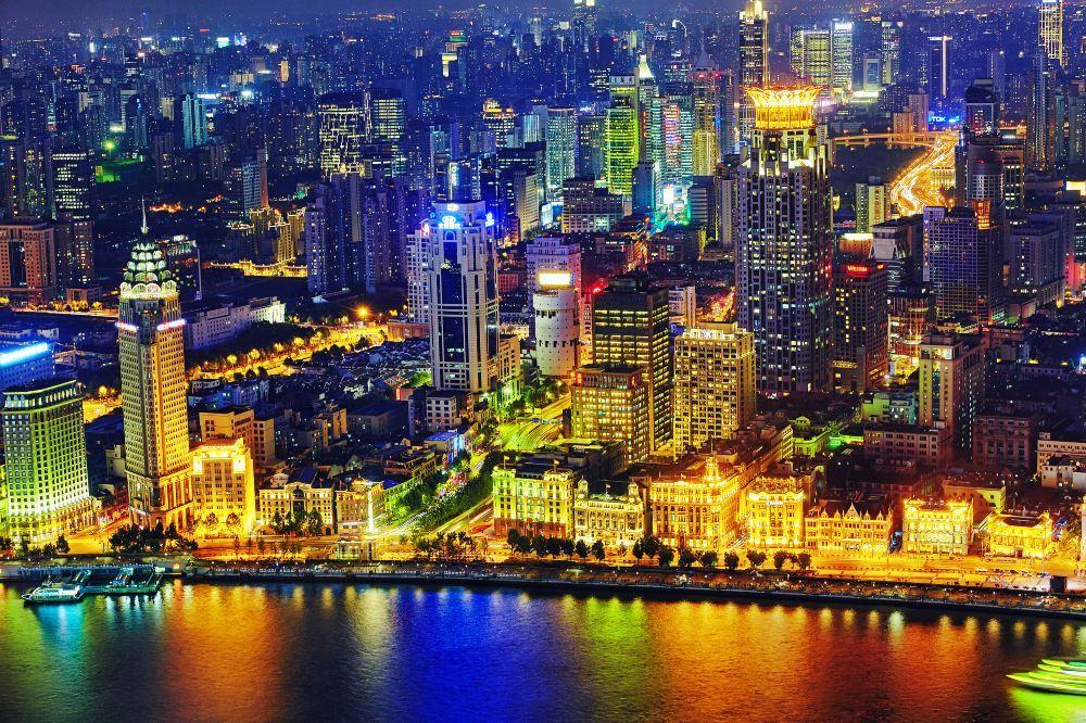 上海环环球金融中心旅游景点风景真实照片