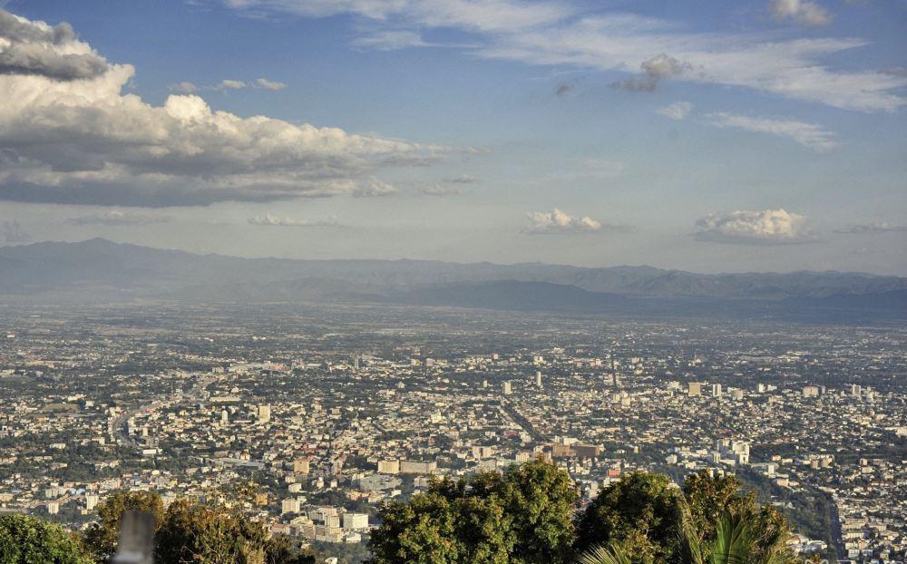 清迈古城素贴山高山风景壁纸图片