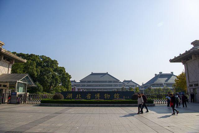 著名的湖北省博物馆古物景点高清壁纸图片