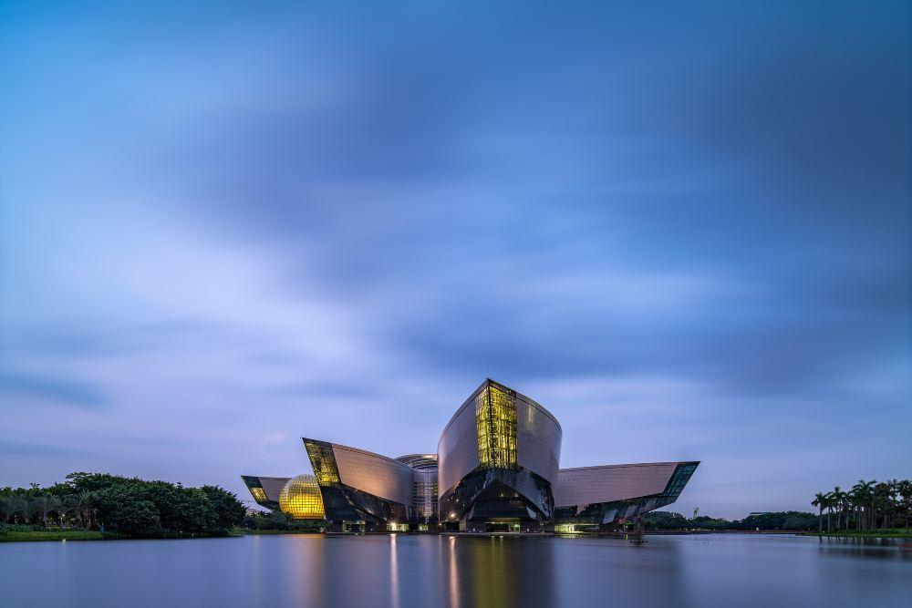 广州广东科学中心旅游景点真实照片风景图片