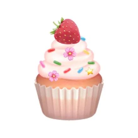粉嫩的可爱微信qq表情包高清头像图片