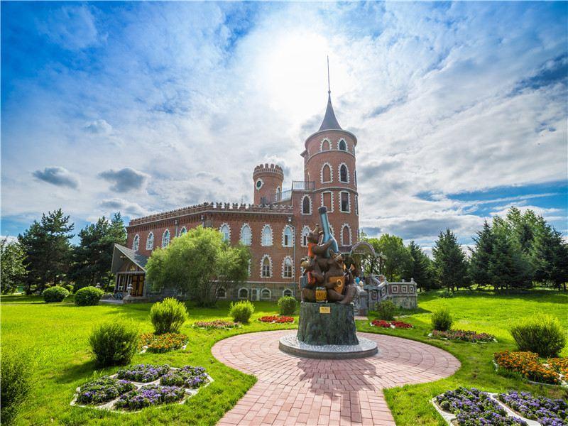 哈尔滨伏尔加庄园旅游景点风景图片大全