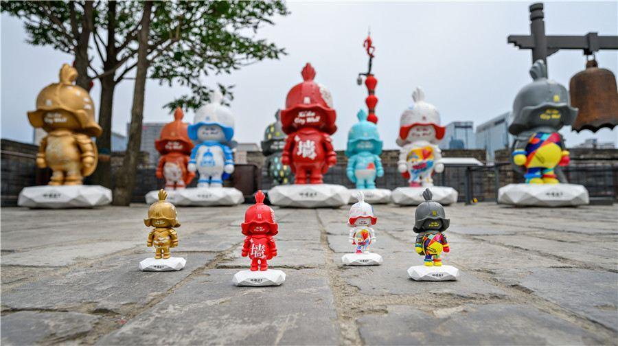 西安城墙旅游景点风景图片大全