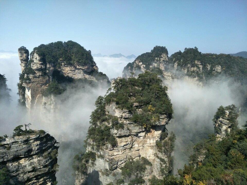 高清张家界武陵源风景图片