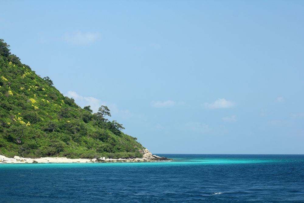 长滩岛灵莉甘海滩旅游高清风景景点图片