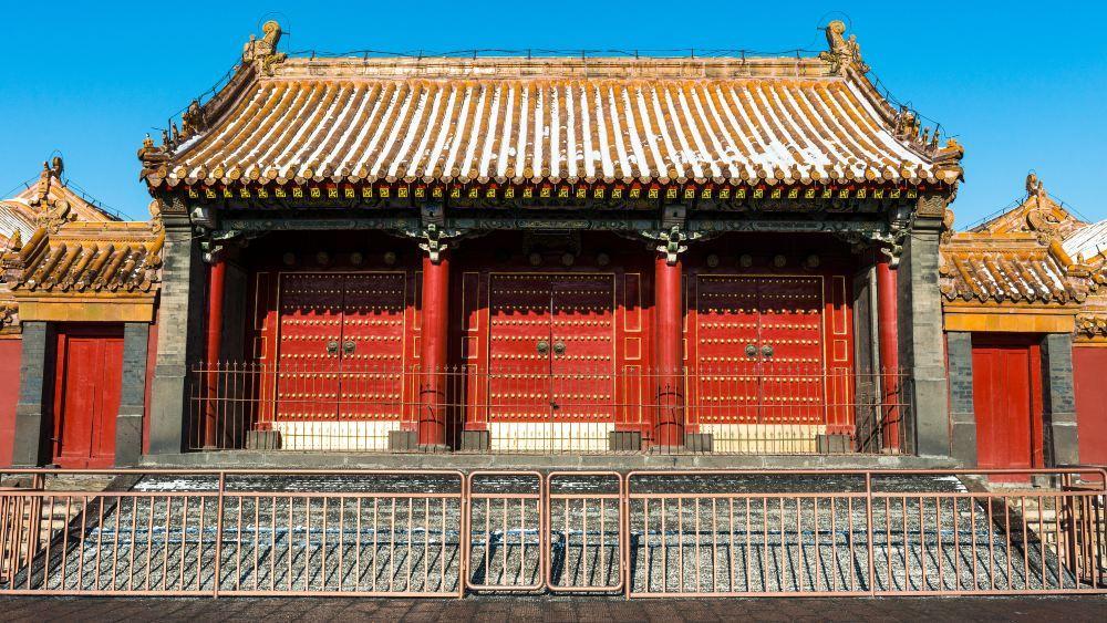 沈阳故宫旅游景点高清风景壁纸大全