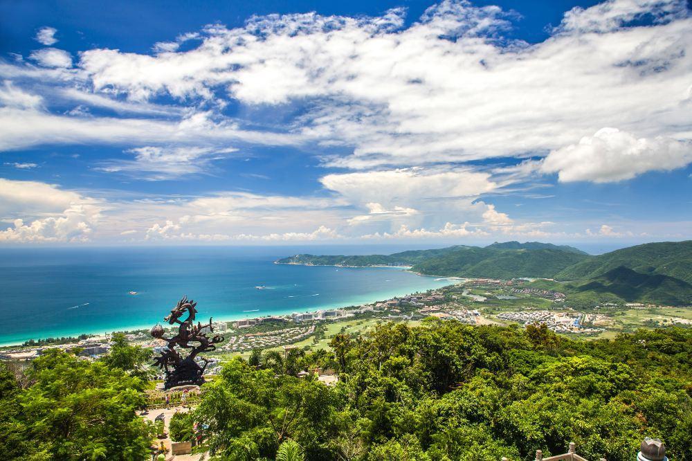 高清三亚亚龙湾热带天堂森林公园图片