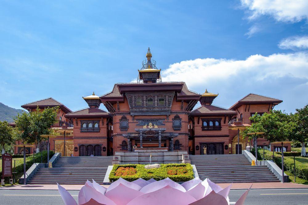 三亚南山寺旅游景点高清风景美图