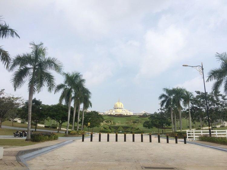 吉隆坡旧国家皇宫旅游景点真实风景照片
