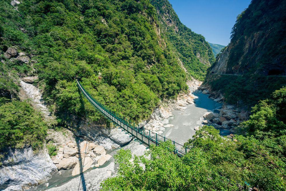 高清花莲太鲁阁国家公园图片 太鲁阁国家公园旅游景点真实照片风景