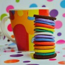 五颜六色的可爱小东西图片