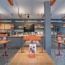 鸟餐厅炸鸡店个性设计风格