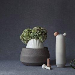 <b>瑞典设计有机形状的陶瓷花瓶</b>