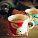 唯美杯子早安图片