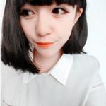 可爱短发女生QQ头像