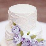 唯美创意婚礼蛋糕手机图