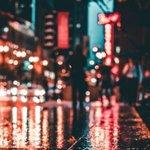 小清新唯美风格的城市街