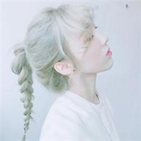 韩系原宿风彩色发型美女头像