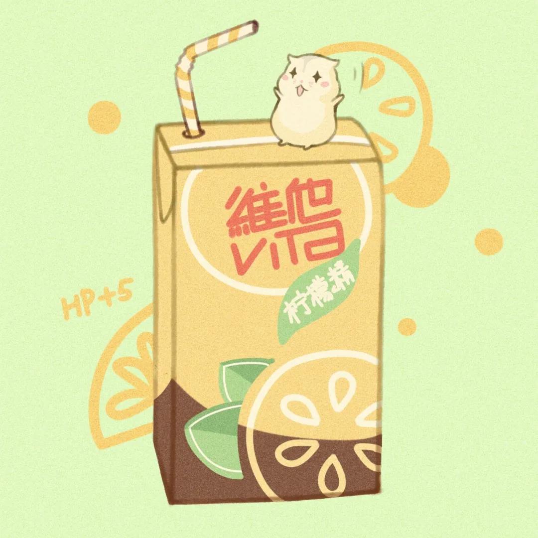 八月长安_夏日饮料清新可爱卡通壁纸图片_可爱图片
