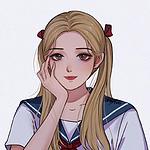 精致漂亮的高中制服女生