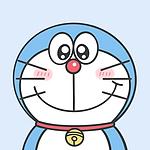 可爱哆啦A梦表情主题卡通