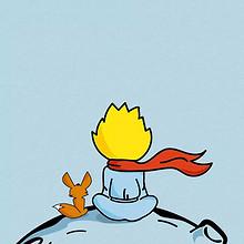 小王子和狐狸温馨治愈动画
