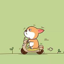 夏日清新可爱卡通动物手机