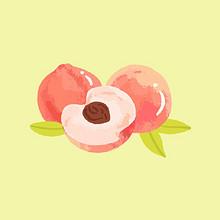 夏日专属甜食卡通桌面图片