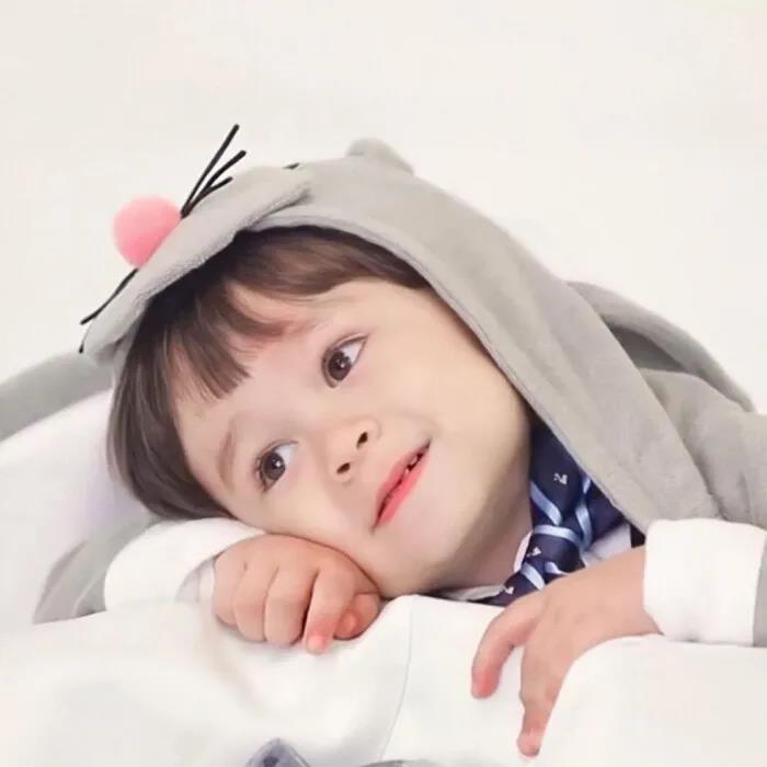 融化姨母心的可爱萌娃头像图片