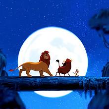 动画电影《狮子王》温馨手