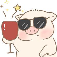 呆萌可爱精致小猪猪头像