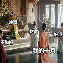 《长安诺》电视剧官博主演十月表情包图片