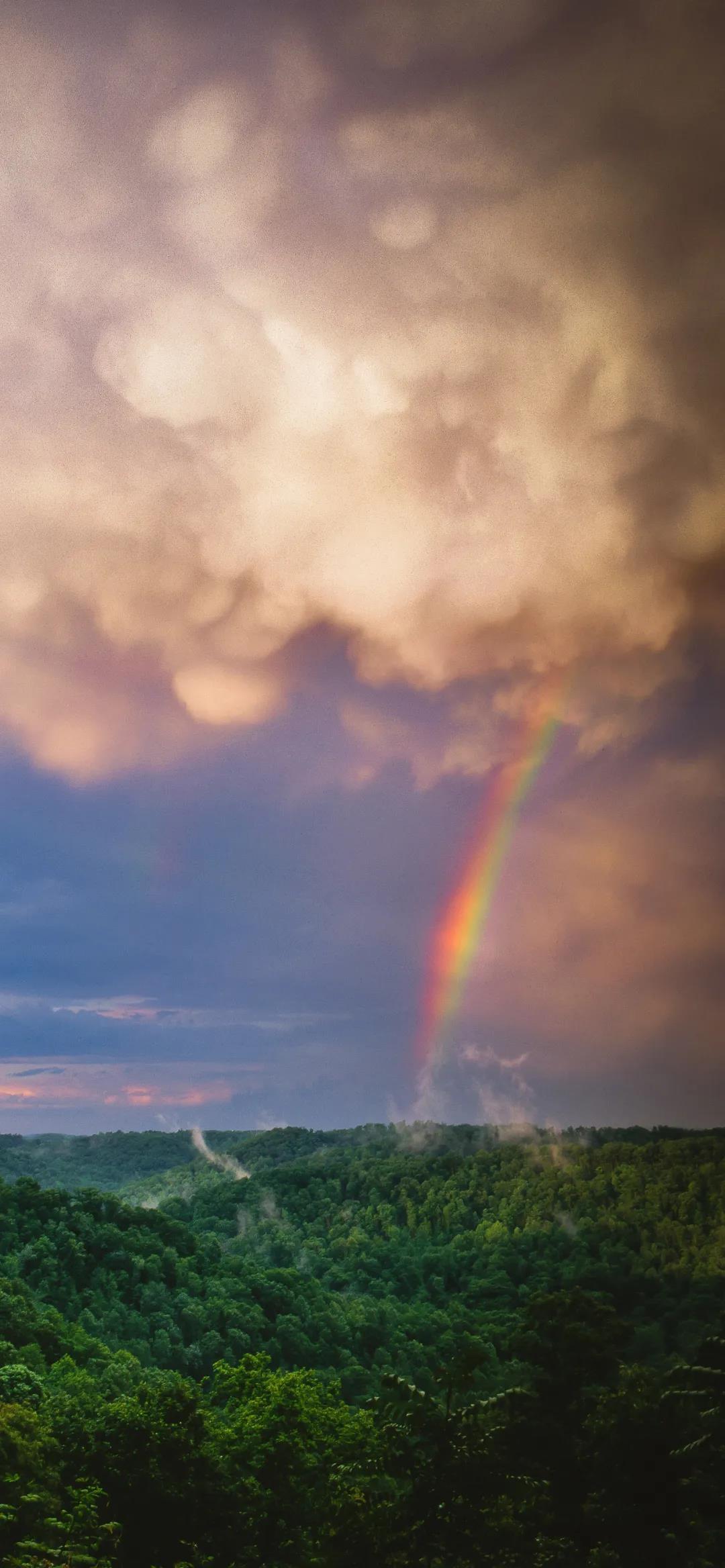令人心情放松平静的高清唯美天空风景手机壁纸图片