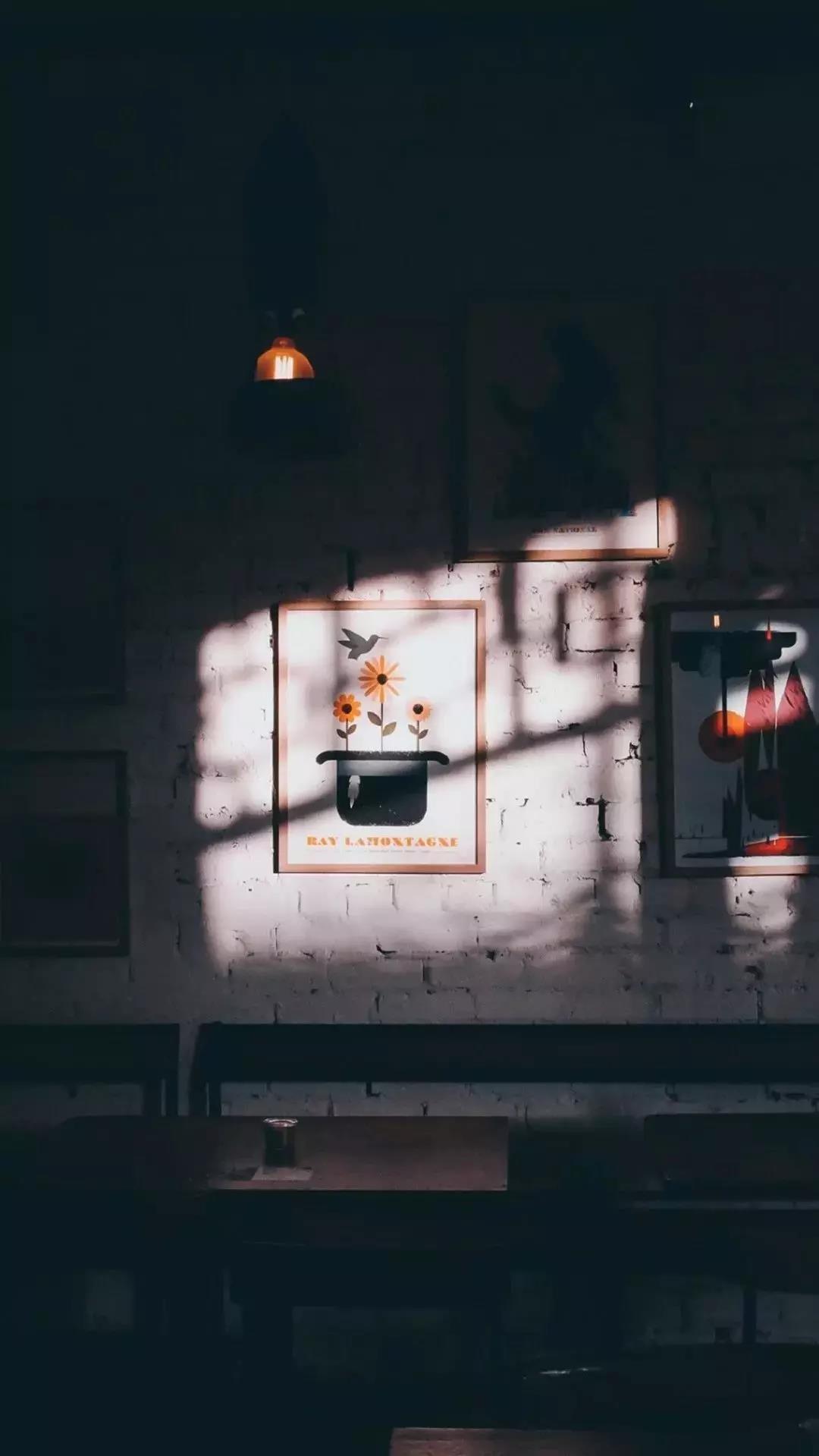 照进黑暗的光 唯美治愈的风景高清手机壁纸图片